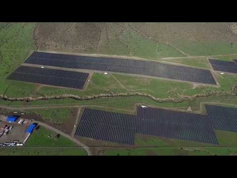 One of the world's largest solar plants helps keep Chile's l