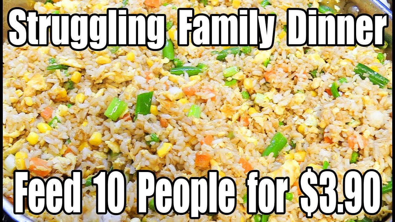 Feed 10 People for $3.90 - Family Dinner for Under $5.00 - The Wolfe Pit