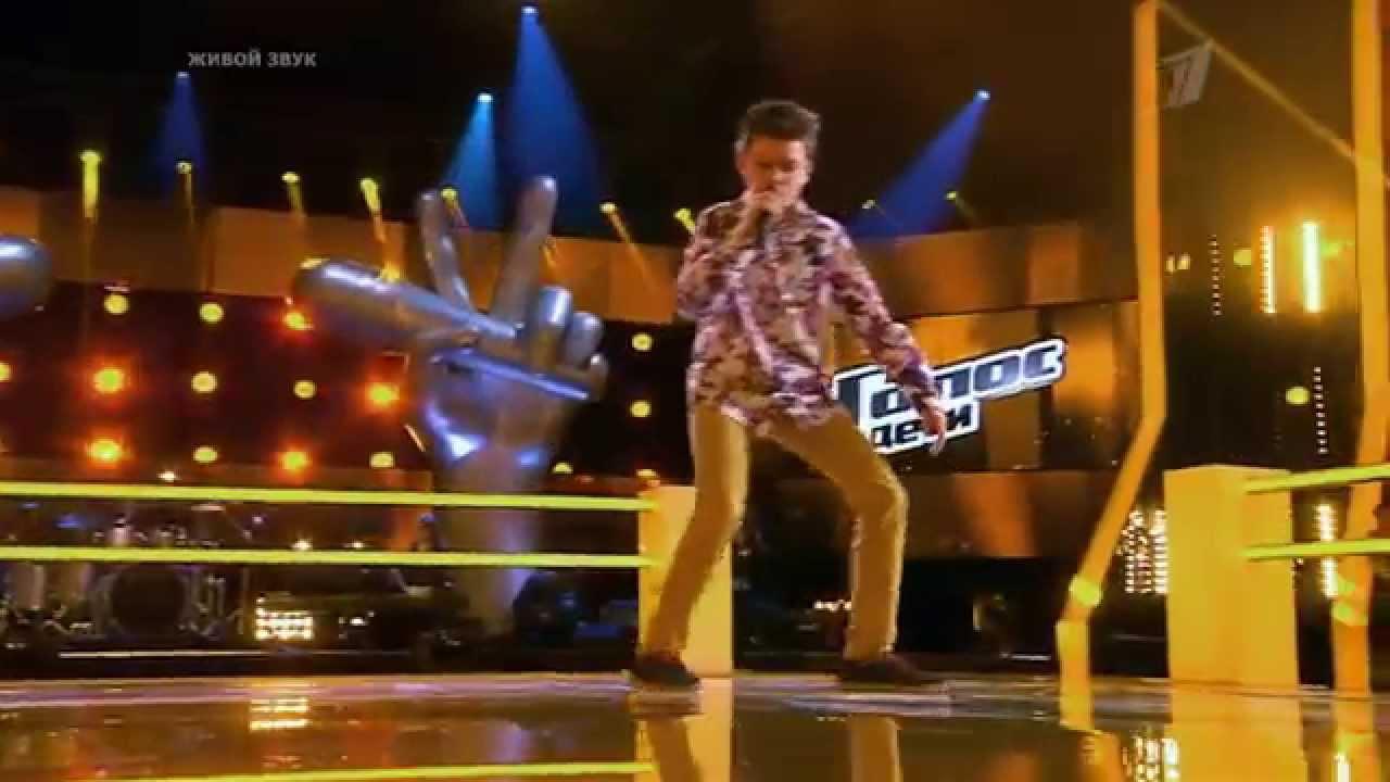 "Даниил Фурман ""Happy"" - Битвы - Голос Дети - Сезон 2"