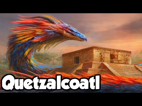 Quetzalcoatl The Feathered Serpent of Aztec & Mayan Mytholog