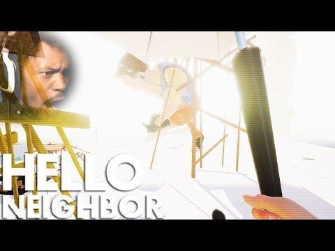 WE FINALLY BEAT GIANT NEIGHBOR  Hello Neighbor 9 BETA BOSS ENDING