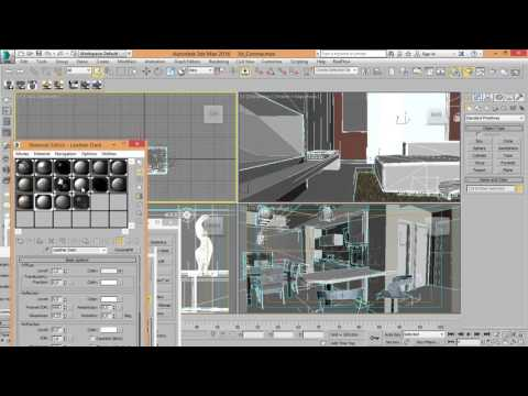 Archicad + 3ds max Corona Render - YouTube