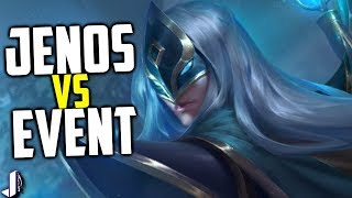 Jenos Reclaims Ascension Peak - Paladins OB68 Event Gameplay