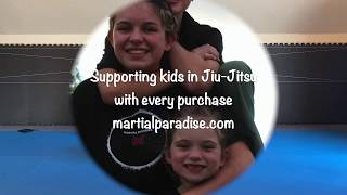 "Jiu-Jitsu workouts with Resistance Bands- ""Bridging & Push-up moves -BJJ exercises for kids & adults"