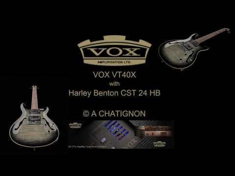 VT40X with Harley Benton CST 24 HB