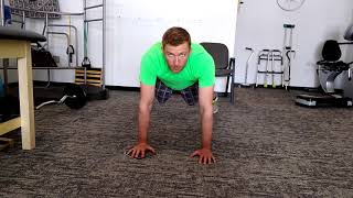 pushup position arcs