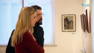 Смотреть видео Открылась выставка о Литве Мстислава Добужинского | Телеканал