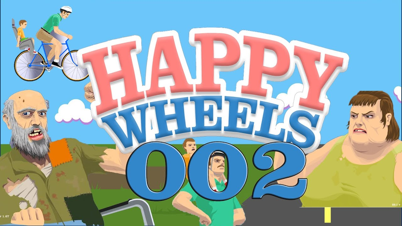 Let 39 s play happy wheels 002 deutsch hd rasenm her - Let s play happy wheels ...