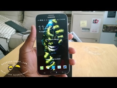 Samsung Galaxy Mega 6.3 Unboxing & First Impressions