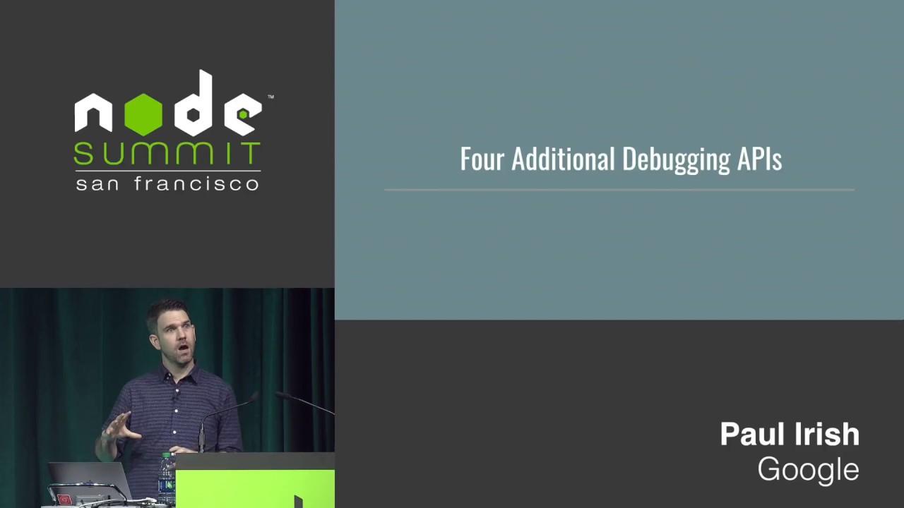 Debugging Node js with Chrome DevTools - Paul Irish - Medium