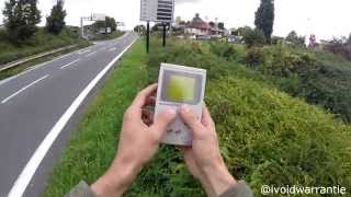 Real hacking of public parking electronic display
