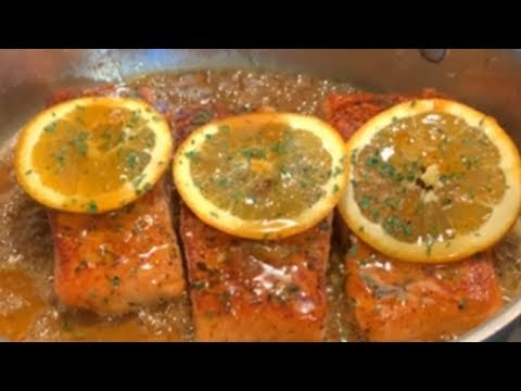 How To Make Orange Marmalade Glazed  Salmon