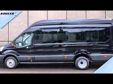 ford transit transit bus 460 l4h3 trend 18 sitzer 39 youtube. Black Bedroom Furniture Sets. Home Design Ideas