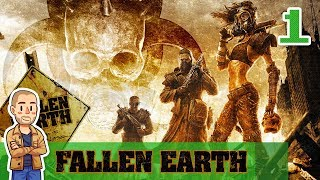 Fallen Earth Gameplay Part 1 - Character Creation & Tutorial - Let