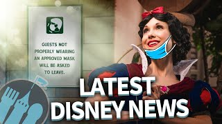 Latest Disney News: 2021 Vacation Packages Are Now Available, New Mask Signage & EPCOT Fest News!
