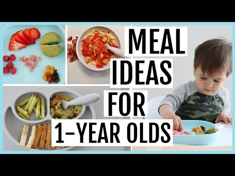 What My Toddler Eats in a Week | 1-YEAR-OLD MEAL IDEAS