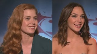 EXCLUSIVE: Amy Adams and Gal Gadot React to Amber Heard Joining 'Justice League'