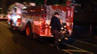 FDNY 4 ALARM FIRE, FDNY ENGINE 45, 46, 42, 38, 75, 97, 48, TOWER LADDER 138, 33, LADDER 32, 27, 59.