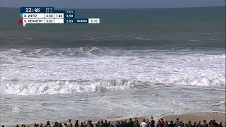 Relieved Conner Coffins Breaks Through to Quarters at MEO Rip Curl Pro