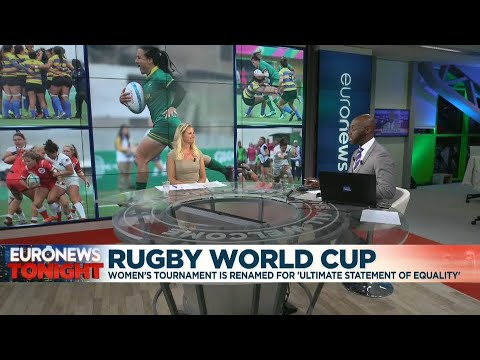 Euronews:World Rugby announces gender neutral naming for World Cup tournaments