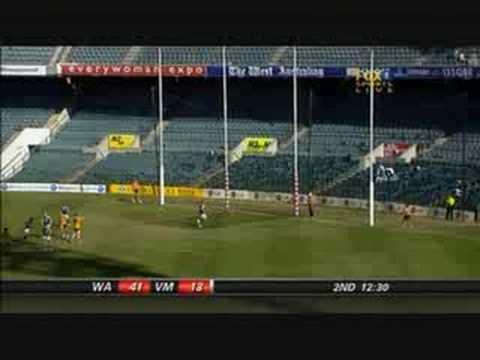 Chris Yarran - 2007 AFL U18 Championships - June 30th