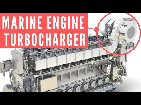 Marine Diesel Engine Turbocharger