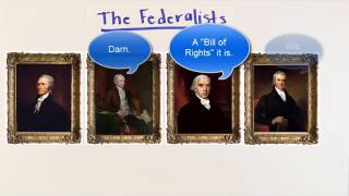 The Federalists versus the Anti-Federalists