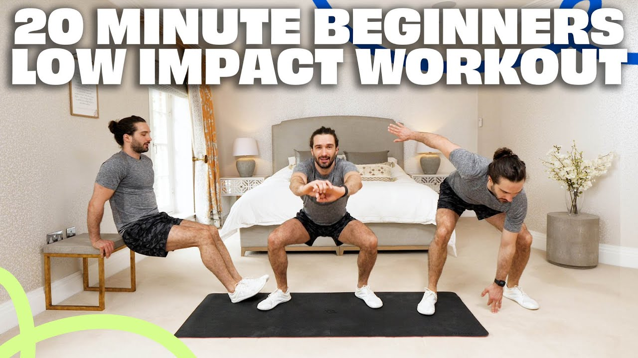 20 Minute BEGINNERS Low Impact Low Intensity Workout | The Body Coach TV