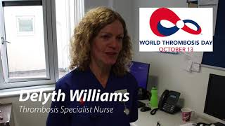 World Thrombosis Day 2019 Delyth Williams