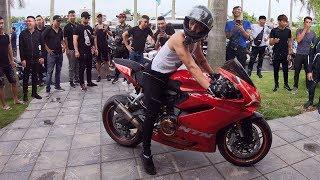 Ntn - Thử Thách 1000 Siêu Moto Ra Đường Nẹt Pô (1000 Superbike Doing Exhaust Sound