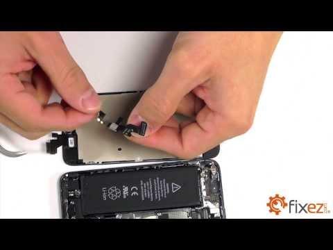 iPhone 5 Front-Facing Camera & Earpiece Speaker Repair
