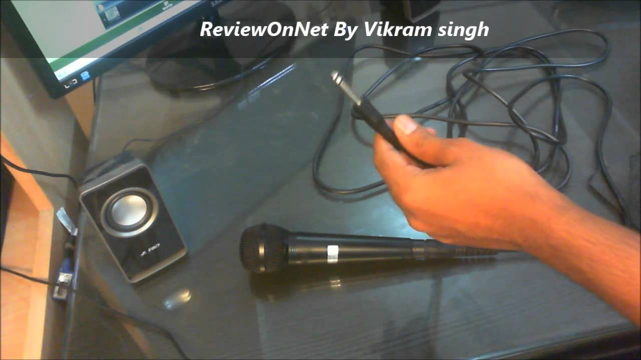 shure sv200 microphone mic connect to computer or notebook technosir youtube. Black Bedroom Furniture Sets. Home Design Ideas