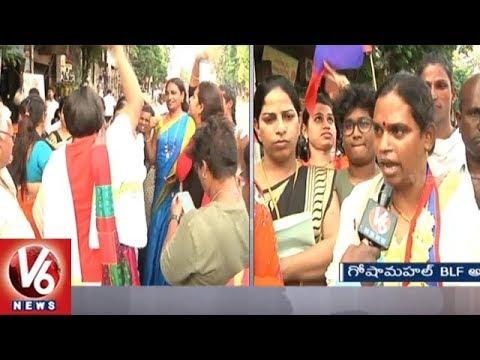 BLF Candidate Transgender Chandramukhi Face To Face | Goshamahal Election Campaign | V6 News