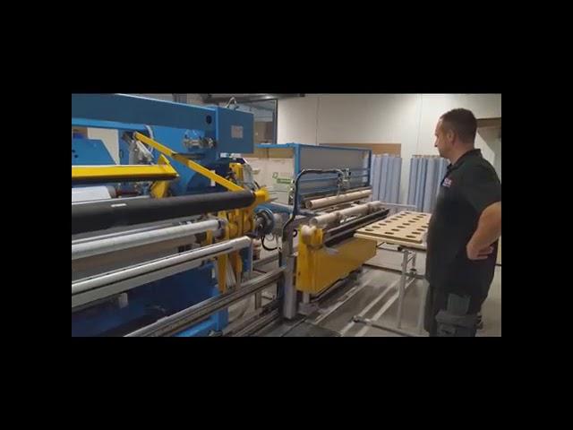 FEBA FE86 Logger Log Winder for Double Sided Tape
