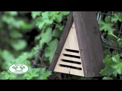 marienk ferhaus dreieck marienk ferquartier insektenhotel. Black Bedroom Furniture Sets. Home Design Ideas