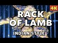 Spicy Grilled Rack of Lamb | Indian Rack of Lamb | Grilled Rack of Lamb on Gas Grill