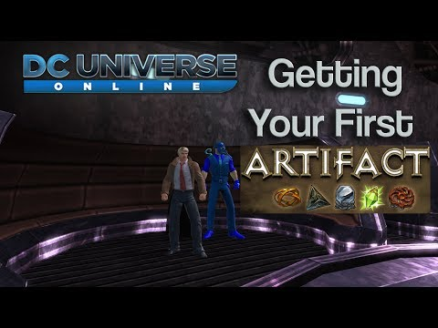 DC Universe Online - Getting your first Artifact