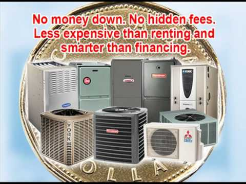 Furnace, Air Conditioner Rentals, HVAC Rent-To-Own $29.99/m Toronto, The GTA, Ontario.