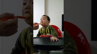 I don't feel like eating anything in the morning (BABY mukbang)