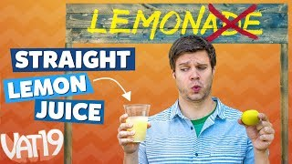Will Kids Drink Lemon Juice? [Mberry Challenge]