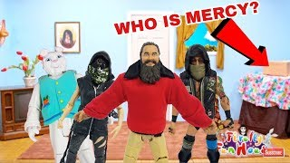 WWE BRAY WYATT FIREFLY FUNHOUSE WHO IS BEHIND THE CHARACTERS!?
