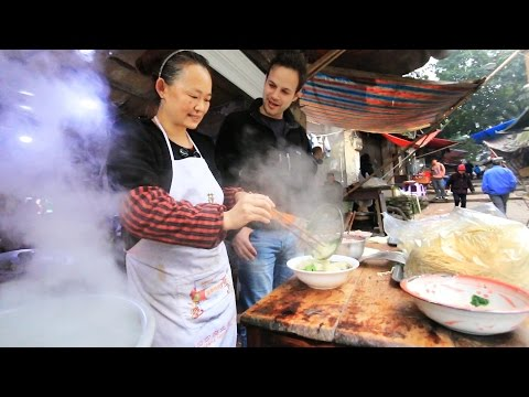 Thumbnail: Chinese Street Food Tour in Chongqing, China | BEST Alleyway Food in China
