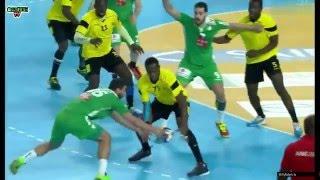 Angola VS Algérie Handball petite finale CAN 2016