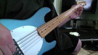 Stone Temple Pilots- Crackerman (Bass Cover)