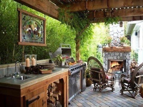 Sommerküche Aus Beton : Outdoor küche mit kamin sommerküche garten küche outdoor