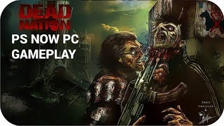 Dead Nation PC Gameplay Walkthrough [PS NOW]