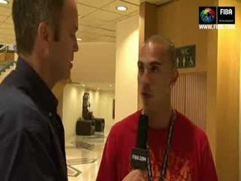 Carlos ARROYO and Ricardo SANCHEZ backstage interview