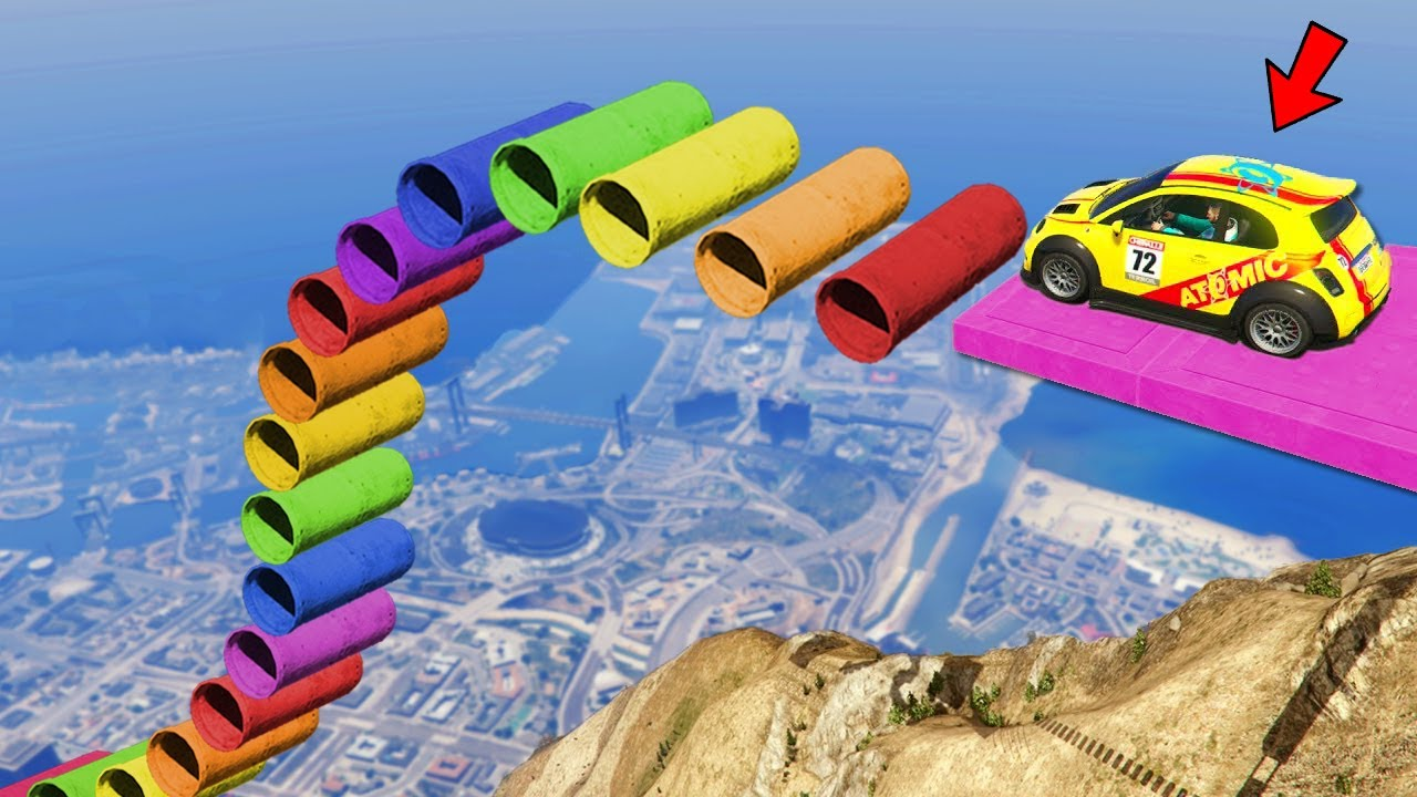 Download ¡CARRERA 99% IMPOSIBLE en GTA 5! 😱 PARKOUR EXTREMO en GTA 5