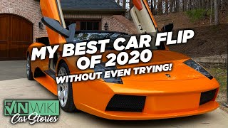 I made $23k in 2 hours on the world's CHEAPEST Murcielago