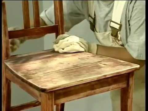 Cмотреть видео онлайн Лессировка деревянных поверхностей